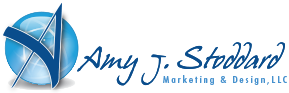 Amy J. Stoddard Marketing & Design logo